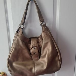 Coach Metalic Leather Bag